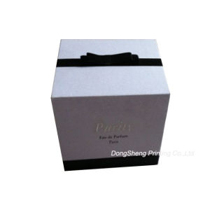 Famous Brand Fasional Purify Handmade Cardboard Cosmetic Boxes with Ribbon pictures & photos
