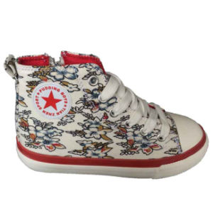 New Style Wholesale Beautiful Baby Canvas Shoes Footwear pictures & photos