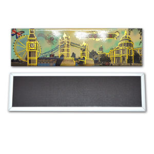 Hot Tourist Tinplate Souvenir Fridge Magnet Paris Souvenir Fridge Magnet pictures & photos