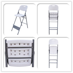 Plastic High Folding Chair for Cocktail Table pictures & photos