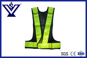 High Visibility Police Reflective Safety Vest (SYFGBX-10V) pictures & photos