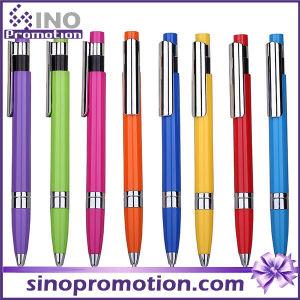 High Quality Plasctic Ball Pen Promotional Click Ball Pen