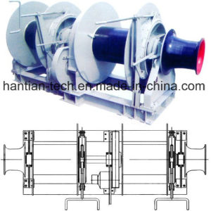 40ton Marine Hydraulic Double Drum Mooring Winch for Boats (2HTHMW40) pictures & photos