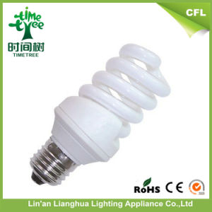Full Spiral 15W T3 T4 8000h Triband Energy Saving Bulb pictures & photos
