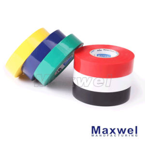 Clear Film Rubber Pressure Sensitive Adhesive Insulation PVC Tape pictures & photos