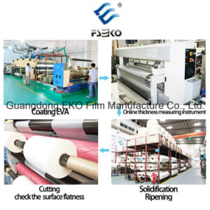 Book Glossy Pet Thermal Laminating Roll Film (21mic) pictures & photos