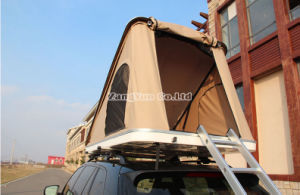 Triangle Brace Rooftop Tent, 2 Person Polyester Car Roof Tent