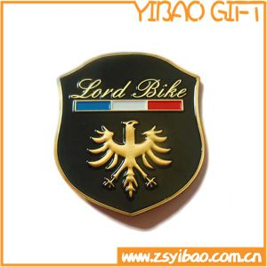 Gold Plating Metal Badge with 3D Design (YB-p-030) pictures & photos