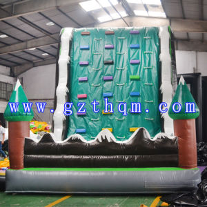 Snow Mountain Forest Inflatable Climbing Wall pictures & photos