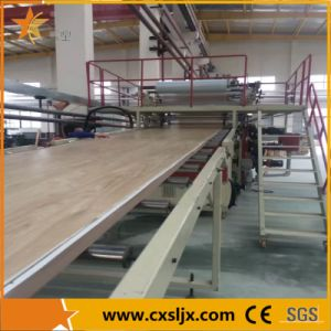 High Efficiency PVC Imitation Marble Board Production Line pictures & photos