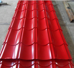 Competitive Price Prepainted Corrugated Steel Roofing Sheets pictures & photos