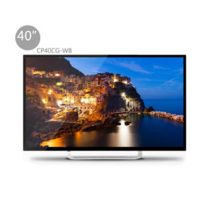 40 Inches LED Smart Television with Toughened Glass Cp40cg-W8 pictures & photos