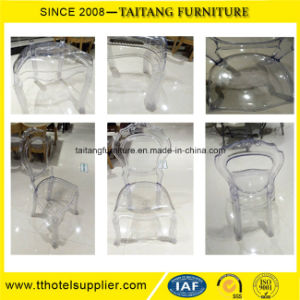 Most Popular Bella Plastic Luxury Clear Chair pictures & photos