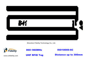 FDY-B41 UHF RFID Inlay Tag for Anti-Counterfeiting
