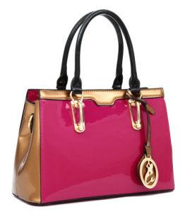 Western Style Trend Fashion Designer Shinny Handbags with SGS (A-002)