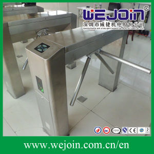 Full Automatic Bridge-Type Tripod Turnstile with 304 Stainless Steel Housing pictures & photos