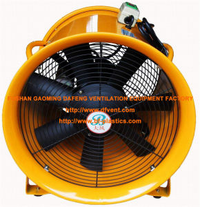 400mm Orange Hand Carrying Axial Ventilation Fan pictures & photos