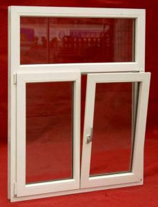 Hot Sale PVC/UPVC Tilt and Turn Glass Window pictures & photos