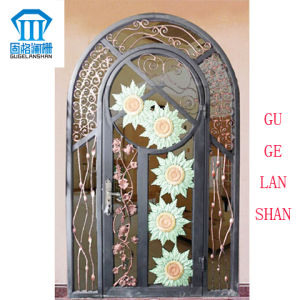 High Quality Crafted Wrought Single Iron Gate 035 pictures & photos