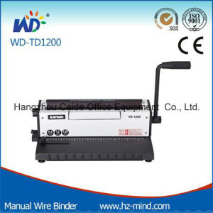 Manual Wire Binding Machine (WD-TD1200) pictures & photos
