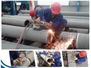 Magnetic Pipe Flame Cutting & Beveling Machine (MPFBM-40A) - 1 pictures & photos
