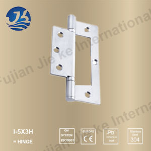 Stainless Steel Square Hinge with Ball Bearing for Folding Door (I-5X3H)
