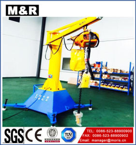 1t Mobile Jib Crane with 360 Degree pictures & photos