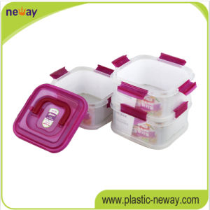 Cheap Custom Plastic Crisper Fresh Round Food Container pictures & photos