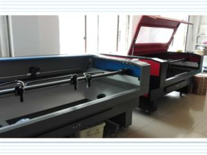 High Speed Laser Cutting Machine for Shoes and Hats pictures & photos