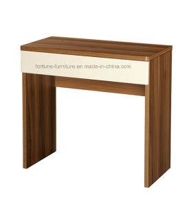 Modern Wooden Walnut&White Dresser (B1083-A)