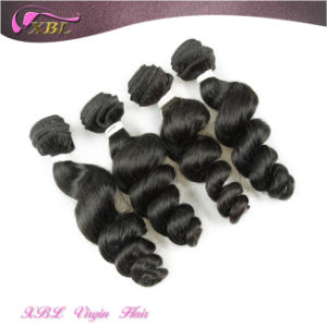 Romance Curl Human Hair Peruvian Wholesale Hair Piece pictures & photos