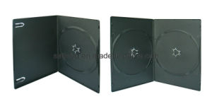 Black Slim PP DVD Case Single and Double