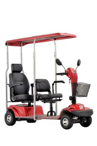 New Design 2 Seats Mobility with 4 Wheels Eml46h pictures & photos