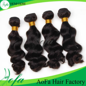 7A Grade Remy Hair Extension Virgin Brazilian Human Hair pictures & photos