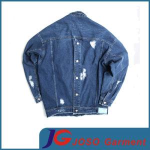 Simple Retro Biker Denim Jacket for Men (JC7046) pictures & photos