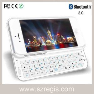 Universal Slide Easily Sideslip Wireless Bluetooth Keyboard for iPhone5/5s/5c pictures & photos