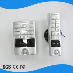 Aluminium Alloy Struction with Door Bell Button Proximity RFID Card Reader pictures & photos