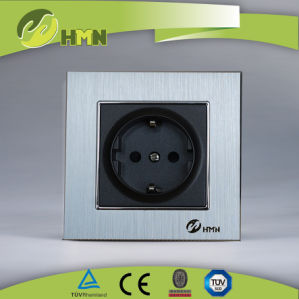 Ce/BV Certified EU Standard Black Glass Doorbell Switch pictures & photos