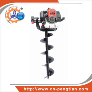 Ground Drill 71cc/3.3HP Post Hole Digger with 100mm, 200mm, 300mm Auger Bits pictures & photos