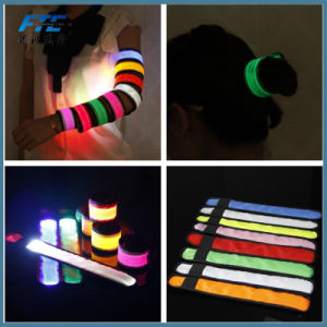Factory Price Promotional Gifts Reflective Slap Band pictures & photos