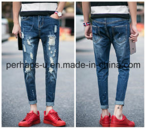 High Quality Fashion Clothes Mens Slim Ripped Jeans pictures & photos