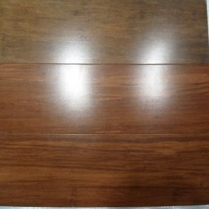 Soundproof Prefinished Natural Strand Woven Bamboo Flooring