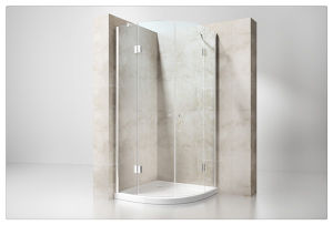 Arc Single Door 8mm Hinge Shower Enclosure pictures & photos