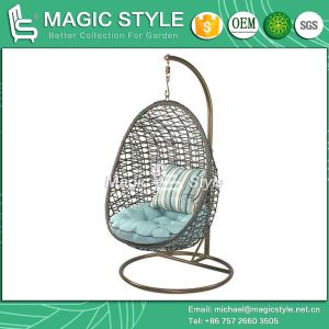 Rattan Swing Wicker Swing Garden Swing Swinging Chair Balcony Swing Hammock Chair (Magic Style) pictures & photos