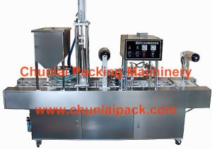 High Output Peanut Paste Filling Sealing Machine (BG60A-6C) pictures & photos