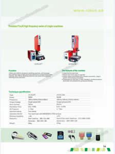 35k Jm Ultrasonic Plastic Welding Machine pictures & photos