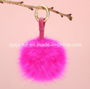 Keychain Use Real Fox Fur Ball pictures & photos