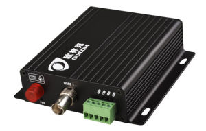 1CH Video + 1CH RS485Data Optical Video Converter