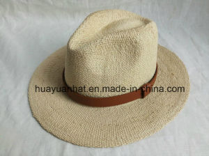 100% Paper with Strapped Decoration Leisure Style Safari Hats