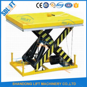 Ce Approved Fixed Hydraulic Scissor Lift pictures & photos